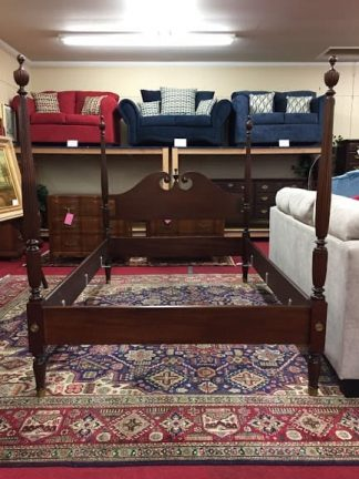 biggs mahogany double bed