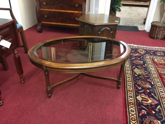 gordon's glass top coffee table