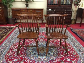 henkel harris windsor arm chairs