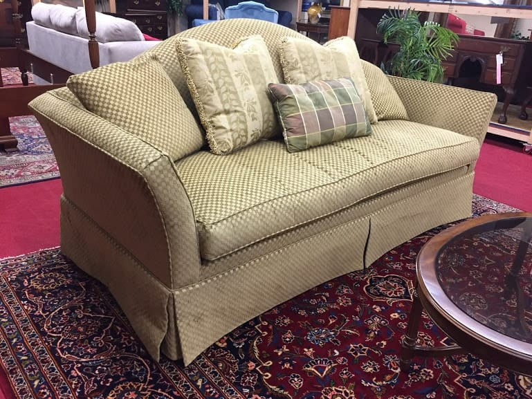 Hickory Chair Vintage Sofa ⋆ Bohemian S