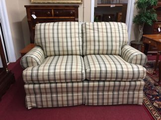 pennsylvania house plaid loveseat