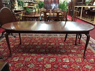 colonial furniture dining table