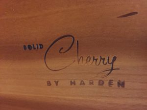 harden cherry furniture