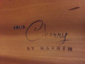 harden cherry furniture