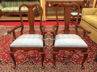 pennsylvania house cherry arm chairs