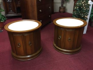 brandt marble top end tables