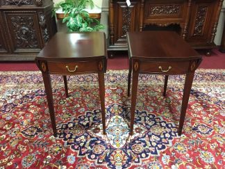 Hickory Chair Mahogany Pembroke Tables