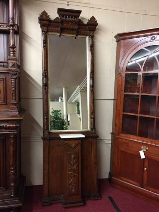 antique victorian pier mirror