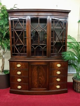 Kittinger Mahogany Breakfront