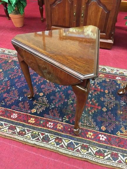 Antique Drop Leaf Table >> Pennsylvania House Triangle Drop Leaf Table ⋆ Bohemian's