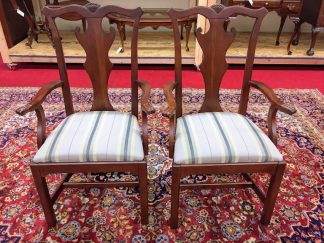 Lexington Cherry Arm Chairs
