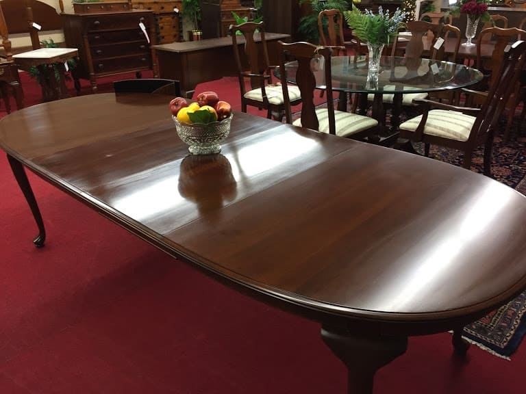 Kling Cherry Dining Table With Two Leaves ⋆ Bohemian S
