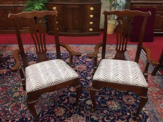 Vintage Cherry Arm Chairs