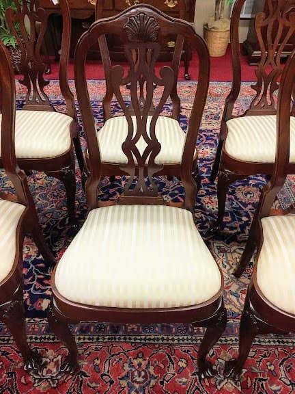 Councill Craftsmen Mahogany Dining Chairs ⋆ Bohemian S