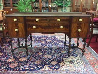 Flint and Horner Walnut and Mahogany Buffet