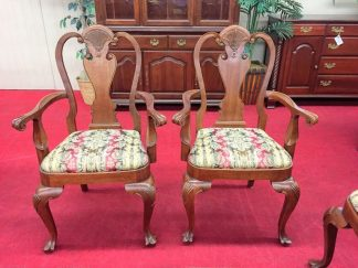 Bartley Collection Mahogany Arm Chairs