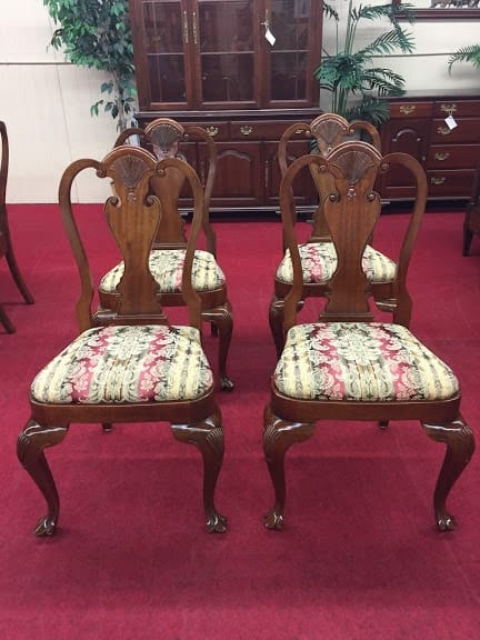 Bartley Collection Mahogany Dining Chairs ⋆ Bohemian S