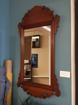 Eldred Wheeler Cherry Chippendale Mirror