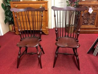 Tubb Furniture Fan Back Windsor Chairs
