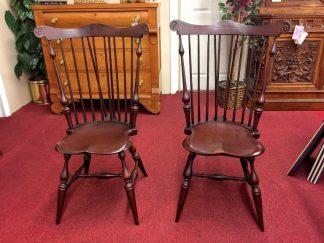 Tubb Furniture Fan Back Windsor Chairs