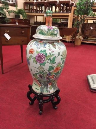 foo dog jar with lid