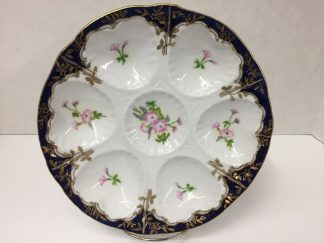 Limoges Oyster Plate