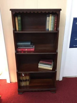 Walnut Finish Bookshelf (Poplar)