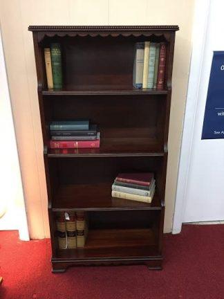 Walnut Finish Bookshelf (Poplar)