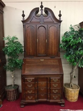 Maddox Cherry Blind Door Secretary Desk