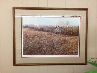 "Harry Richardson ""Golden Fields"" Print - Signed and Framed"