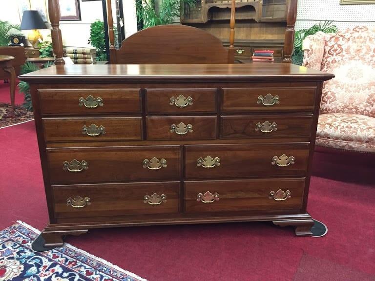 Kling Cherry Ten Drawer Dresser ⋆ Bohemian S