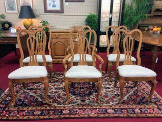 Pennsylvania House Oak Dining Chairs