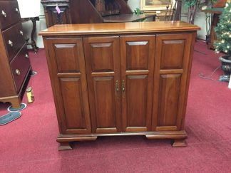 Cherry Paneled Door Credenza