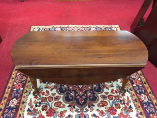 Light Cherry Drop Side Coffee Table