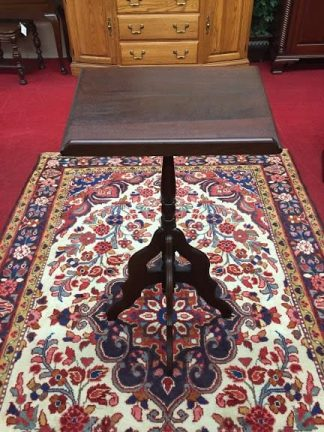 Walnut Victorian Music Stand