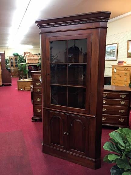 Pennsylvania House Cherry Corner Cabinet