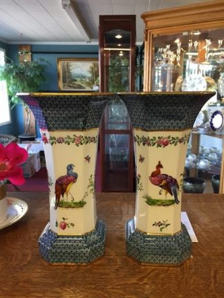Pair of Spode Copeland Vases