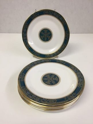 "Royal Doulton ""Carlyle"" Cake or Bread Plate Set"