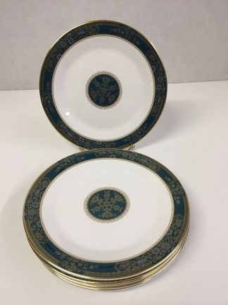 "Royal Doulton ""Carlyle"" Salad Plate Set"