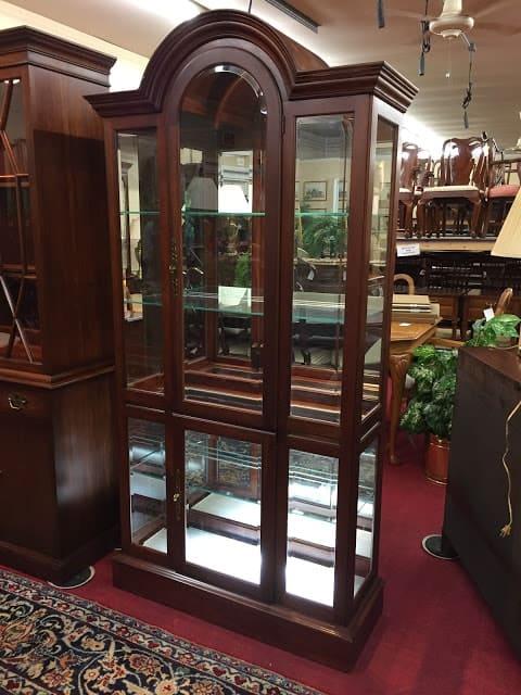 Pennsylvania House Arched Curio Cabinet ⋆ Bohemian's