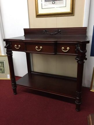 Antique Mahogany Neoclassical Style Hall Table