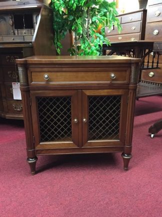 Kindel Cherry Nightstand Cabinet