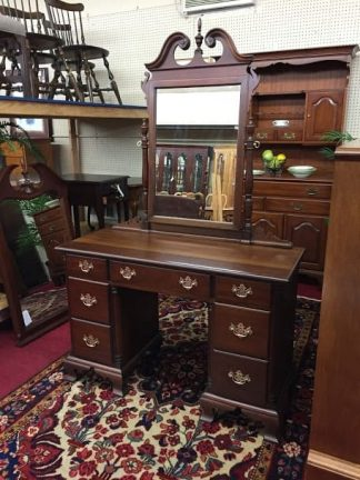 Kling Mahogany Vanity with Mirror