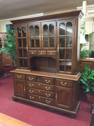 Pennsylvania House Cherry Colonial Hutch Cabinet