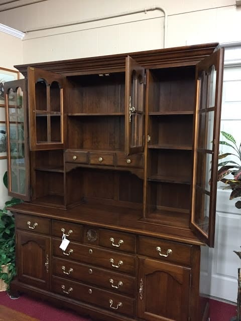 Pennsylvania House Cherry Colonial Hutch Cabinet ⋆ Bohemian's