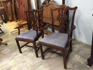 Chippendale Style Arm Chairs $79 each