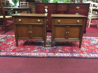 Century Furniture Cherry Nightstands