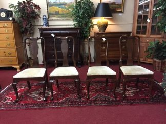 Kling Cherry Queen Anne Dining Chairs