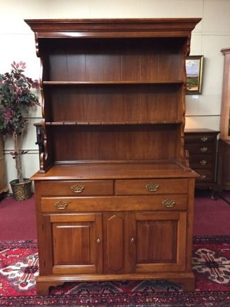 Statton Cherry Hutch Cabinet