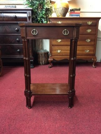 Small Modern Mahogany Hall Stand